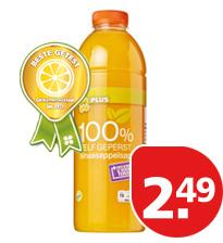 Vers geperst sinaasappelsap supermarkt