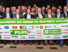 PLUS en top 40 leveranciers gaan samen minder en duurzamer verpakken